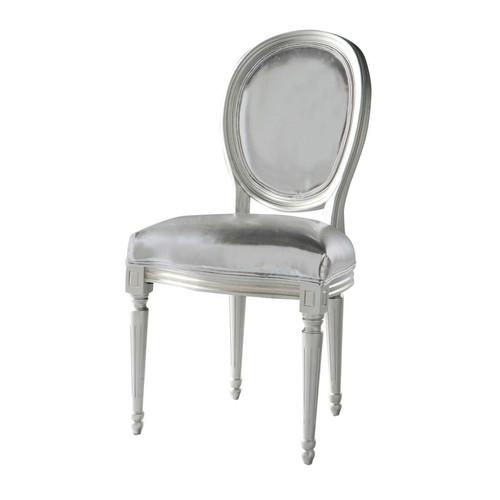 fauteuil medaillon argent