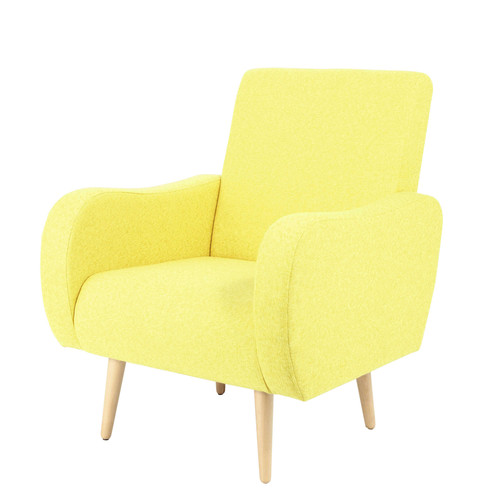 fauteuil jaune. Black Bedroom Furniture Sets. Home Design Ideas