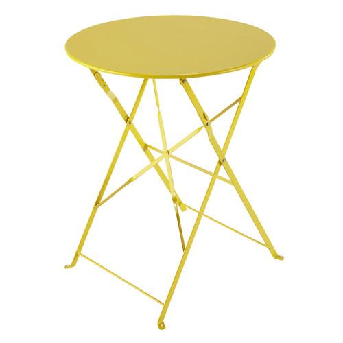 Table de jardin aluminium maison du monde des id es int ressa - Fabriquer table pliante ...