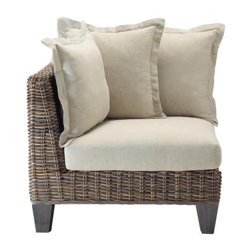 angle de canap en rotin kubu cap ferret maisons du monde. Black Bedroom Furniture Sets. Home Design Ideas