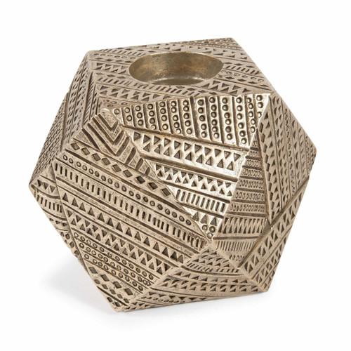 bougeoir dor h 11 cm kibungo gold maisons du monde. Black Bedroom Furniture Sets. Home Design Ideas