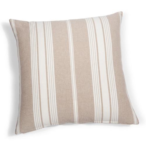 coussin rayures en coton 60 x 60 cm air de campagne. Black Bedroom Furniture Sets. Home Design Ideas