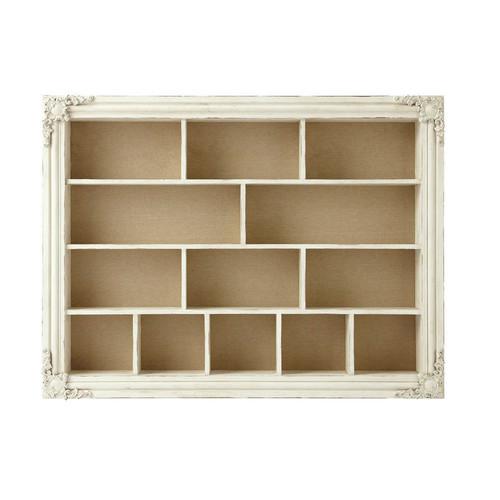 tag re en bois blanche effet vieilli l 102 cm blandine maisons du monde. Black Bedroom Furniture Sets. Home Design Ideas