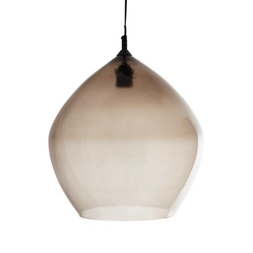 suspension en verre fum d 39 cm neptune maisons du monde. Black Bedroom Furniture Sets. Home Design Ideas