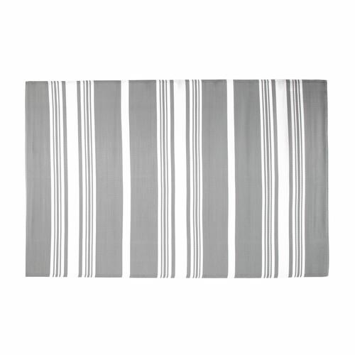 Tappeto grigio da esterno in tessuto 180 x 270 cm TRANSAT Maisons du ...