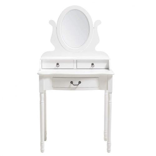 coiffeuse blanche l 70 cm jos phine maisons du monde. Black Bedroom Furniture Sets. Home Design Ideas