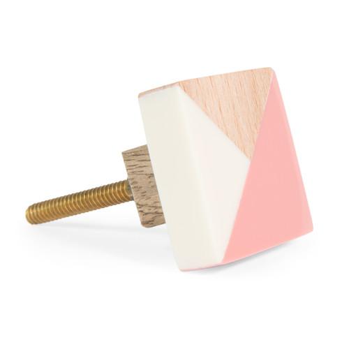 bouton de porte en bois pastel stina maisons du monde. Black Bedroom Furniture Sets. Home Design Ideas