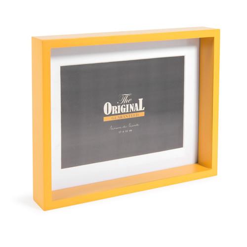 cadre photo en bois jaune 18 x 23 cm malmo maisons du monde. Black Bedroom Furniture Sets. Home Design Ideas