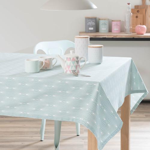 nappe en coton bleu 150 x 250 cm elua maisons du monde. Black Bedroom Furniture Sets. Home Design Ideas