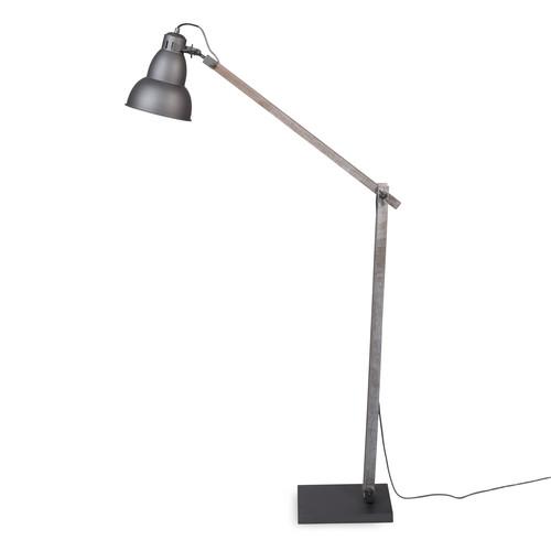 lampadaire en bois et m tal h 150 cm cooper. Black Bedroom Furniture Sets. Home Design Ideas