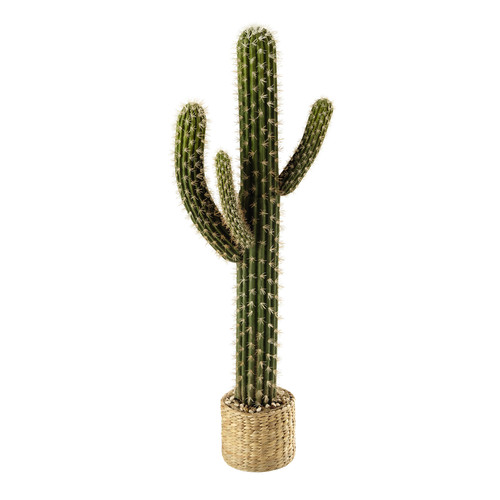 cactus artificiel en pot h 109 cm vista maisons du monde. Black Bedroom Furniture Sets. Home Design Ideas