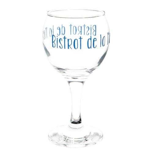 Caisse En Bois Maison Du Monde : verres ? pied + caisse en bois BISTROT Maisons du Monde