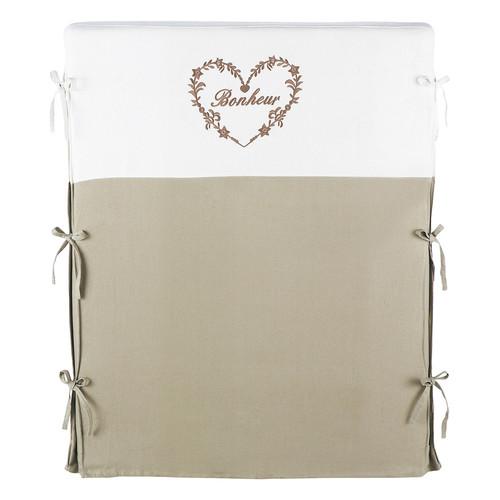 Fodera della testata letto 90 cm color lino naturale e - Fodera testata letto ...