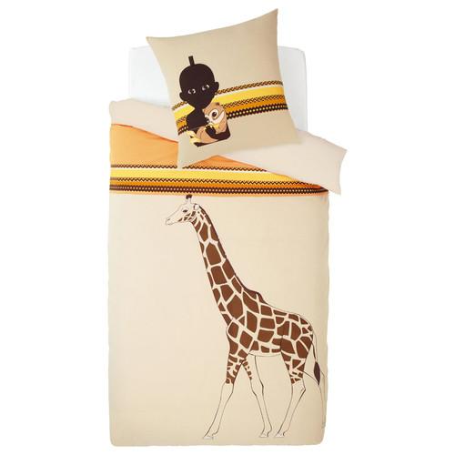 parure housse de couette enfant kirikou maisons du monde. Black Bedroom Furniture Sets. Home Design Ideas