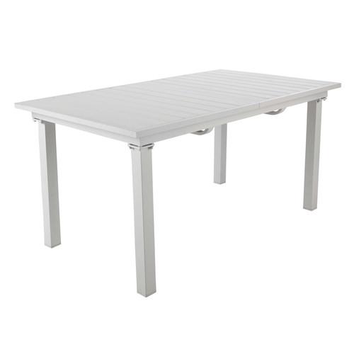 Table jardin blanche maison du monde des for Table jardin maison du monde