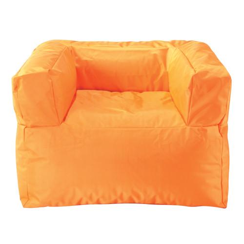 Fauteuil d 39 ext rieur gonflable orange papagayo maisons - Fauteuil d exterieur ...