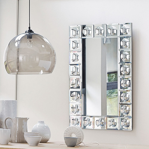 miroir biseaut h 120 cm broadway maisons du monde. Black Bedroom Furniture Sets. Home Design Ideas