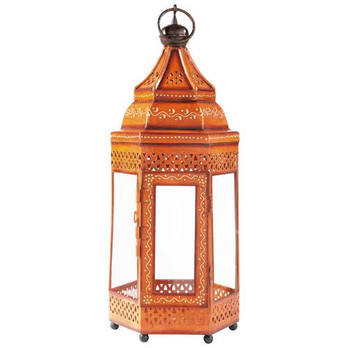 Lanterne caravane orange maisons du monde - Lanterne maison du monde ...