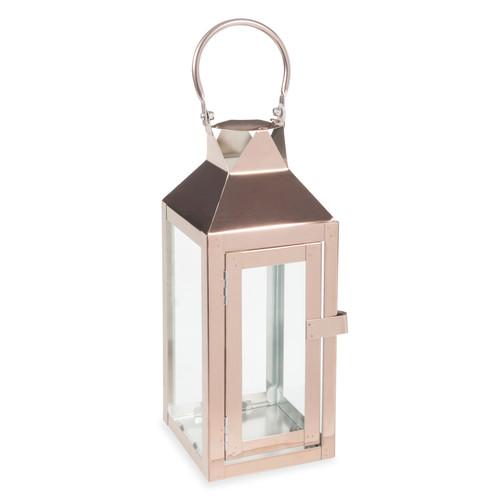 Lanterne en m tal cuivr h 28 cm upper west side maisons du monde - Lanterne exterieur maison du monde ...