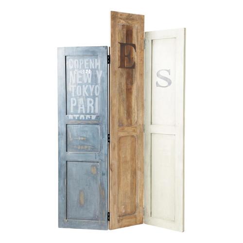 ... legno riciclato doors il paravento doors è un paravento in legno 100