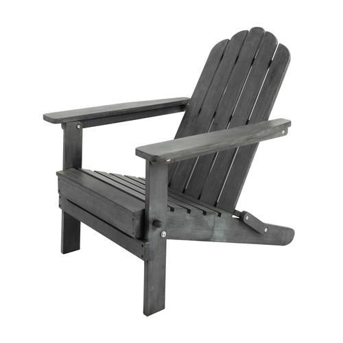fauteuil pliant de jardin en acacia gris ontario maisons du monde. Black Bedroom Furniture Sets. Home Design Ideas