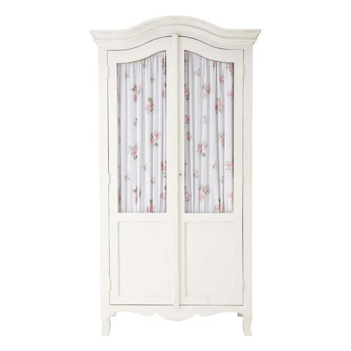 Armoire blanche shabby maisons du monde - Grande armoire blanche ...