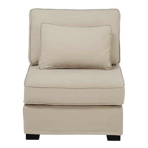 chauffeuse de canap modulable en coton mastic milano. Black Bedroom Furniture Sets. Home Design Ideas