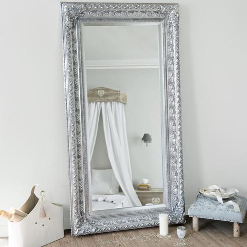 Specchio Marquise Argento 180x95 Maisons Du Monde