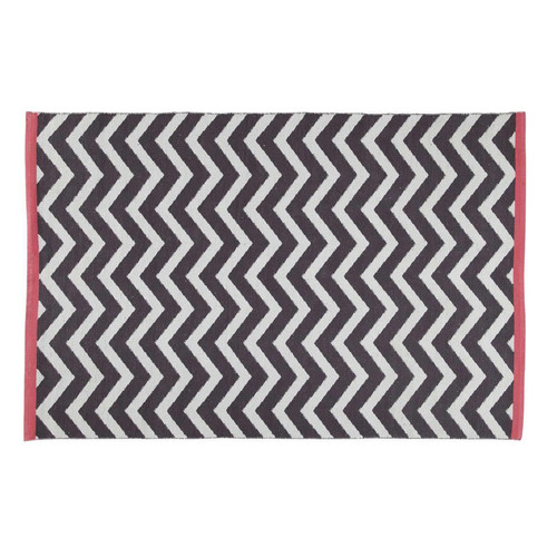 tapis gris anthracite wave 140x200 maisons du monde. Black Bedroom Furniture Sets. Home Design Ideas