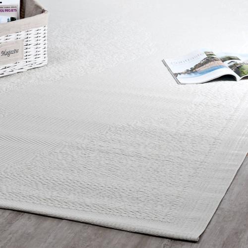 OutdoorTeppich IBIZA aus Kunststoff, 180 x 270 cm, weiß