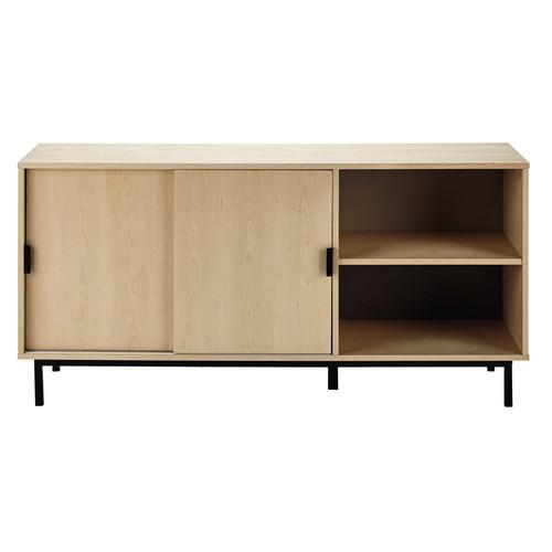 buffet en bois l 160 cm graphik maisons du monde. Black Bedroom Furniture Sets. Home Design Ideas