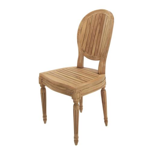 chaise de jardin en teck. Black Bedroom Furniture Sets. Home Design Ideas