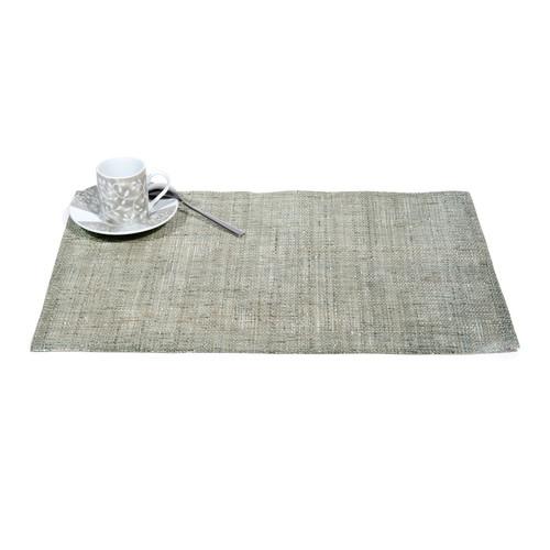 Set de table gris clair paillet maisons du monde for Set de table paillete