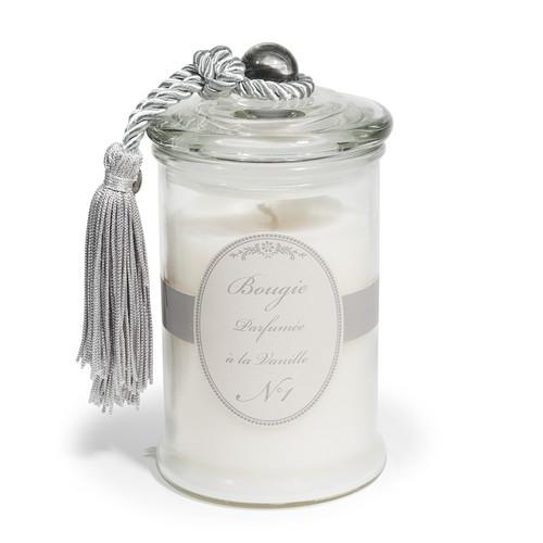 Bougie bonbonni re parfum vanille blanche h 15 cm - Bonbonniere maison du monde ...