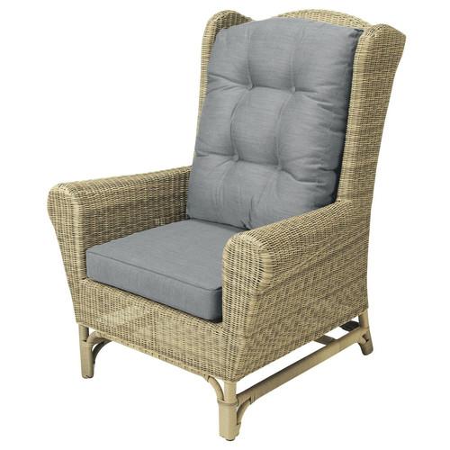 fauteuil berg re de jardin en r sine tress e saint rapha l maisons du monde. Black Bedroom Furniture Sets. Home Design Ideas