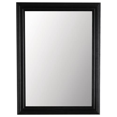 Miroir napoli noir 120x90 maisons du monde for Miroir 80x160