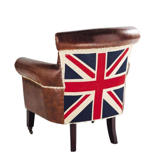 Fauteuil cambridge maisons du monde - Fauteuil drapeau anglais ...