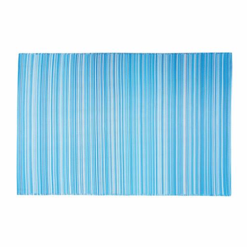 tapis d 39 ext rieur en polypropyl ne bleu 180 x 270 cm vitamine maisons du monde. Black Bedroom Furniture Sets. Home Design Ideas