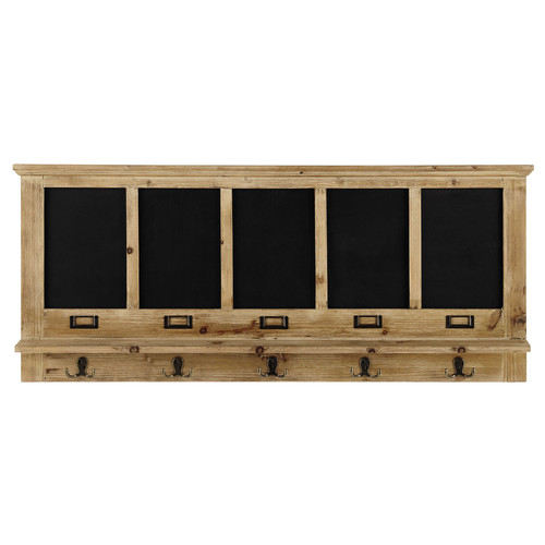 pat re 5 crochets ardoise en bois albertine maisons du. Black Bedroom Furniture Sets. Home Design Ideas
