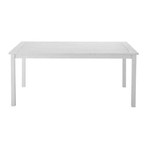 Table jardin blanche maison du monde des id es int ressantes - Maison du monde table beton ...