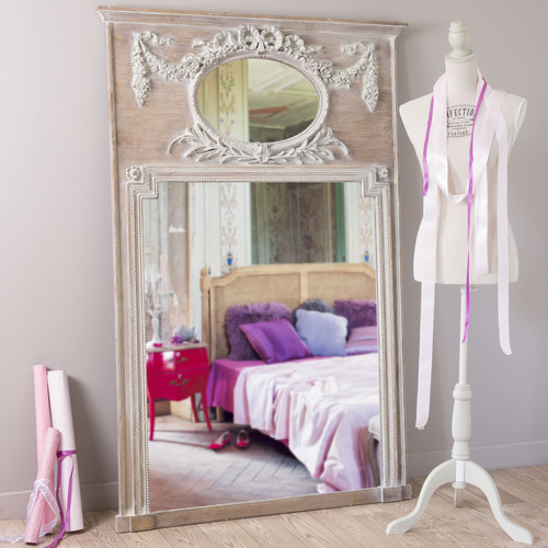 Miroir Bois Maison Du Monde : Miroir trumeau en bois H 160 cm MIRANO Maisons du Monde