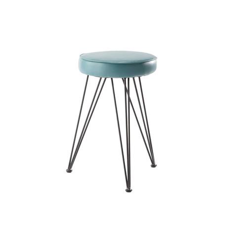 hocker blau caps caps maisons du monde. Black Bedroom Furniture Sets. Home Design Ideas