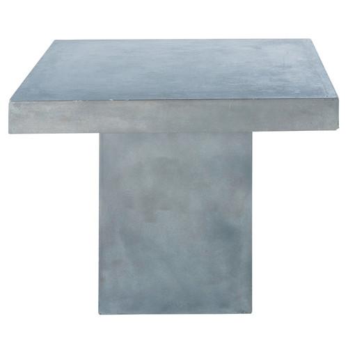 Beton table jardin maisons du monde beton table maisons du - Table beton cire maison du monde ...