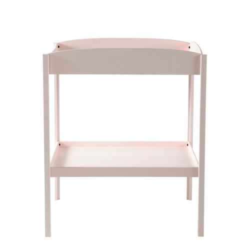 table langer en bois rose l 80 cm pastel maisons du monde. Black Bedroom Furniture Sets. Home Design Ideas
