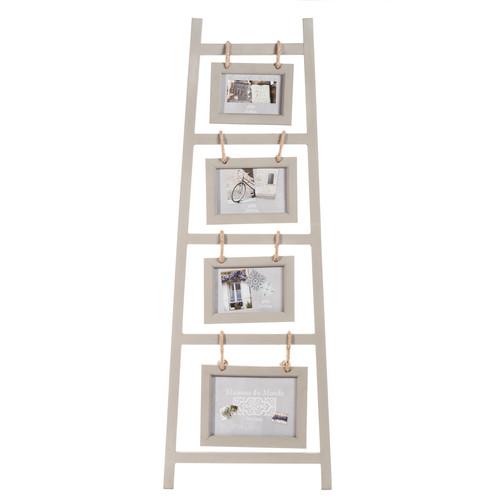 cadre photo 4 vues en bois 35 x 95 cm chelle maisons du monde. Black Bedroom Furniture Sets. Home Design Ideas