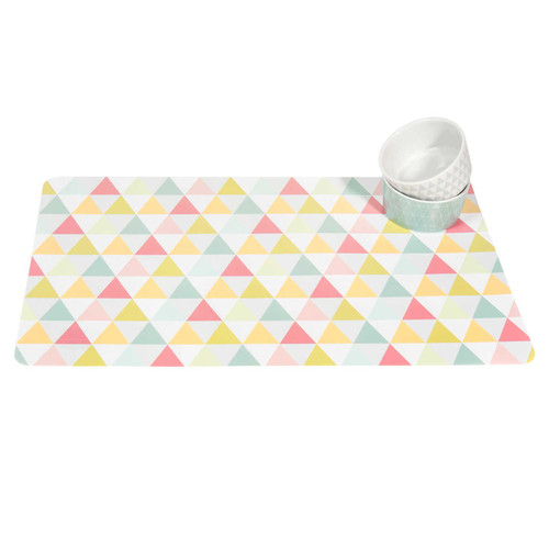 Set De Table Motifs Triangle Graphique Maisons Du Monde