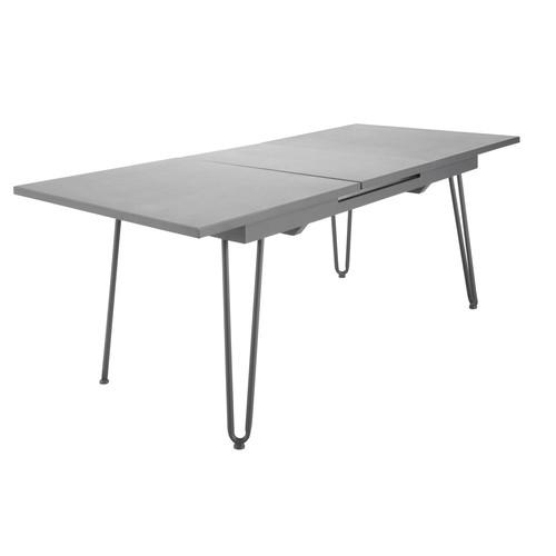Table rallonge de jardin en m tal l 150 cm swing - Maison du monde table de jardin ...