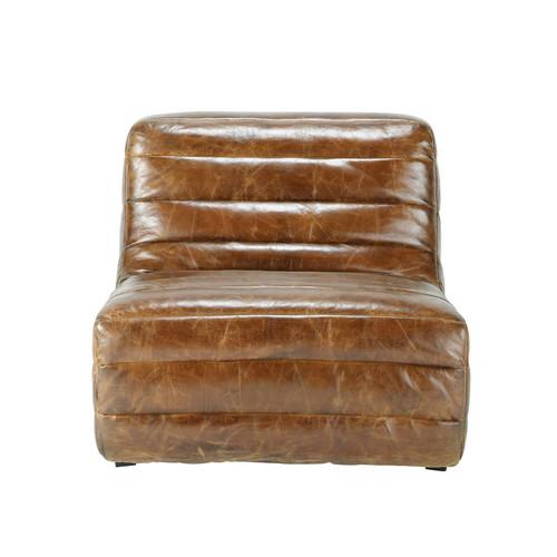 Poltrona in pelle marrone vintage stuttgart stuttgart for Poltrone in cuoio invecchiato