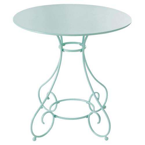 Table De Jardin En M Tal Verte D 70 Cm Mary Maisons Du Monde