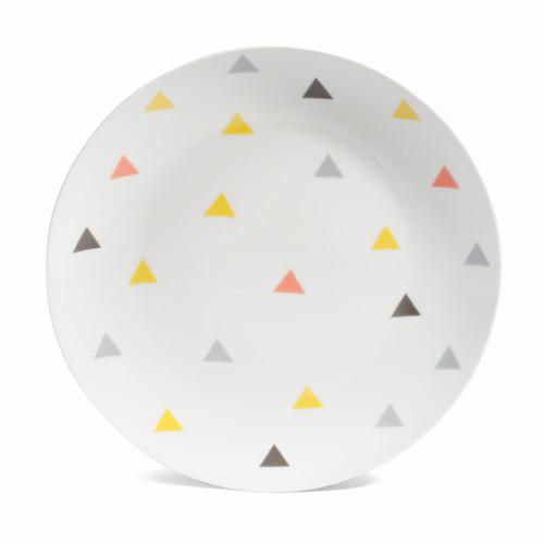 assiette dessert en porcelaine d 20 cm scandinave. Black Bedroom Furniture Sets. Home Design Ideas